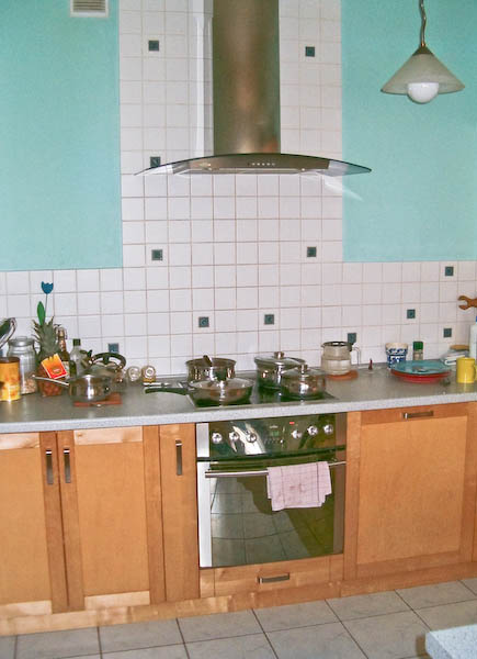 Brzozowe meble kuchenne