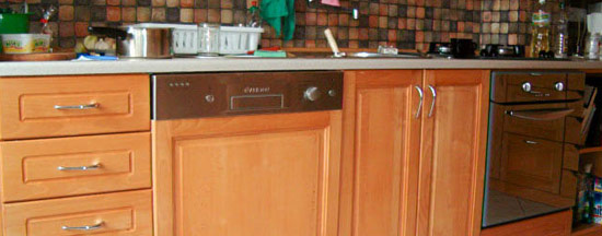 Bukowe meble kuchenne