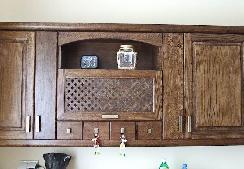 Dębowe meble kuchenne