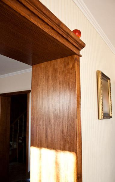 Dębowe ościeżnice drzwiowe
