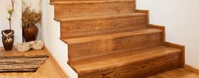 Dębowe schody zabiegowe