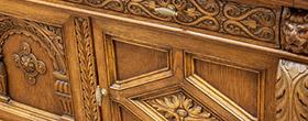 Renowacja zabytkowej rzeźbionej komody